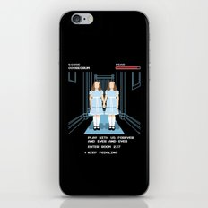 All Play and No Work iPhone & iPod Skin