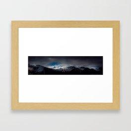 Frozen Silence | Iceland - The Black Beauty Framed Art Print
