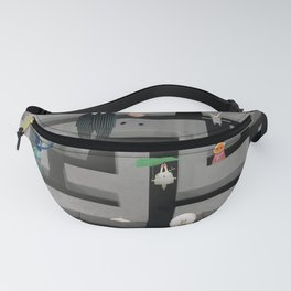 Time in the labyrinth and the Hare Fanny Pack