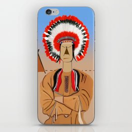 The Indian II iPhone Skin