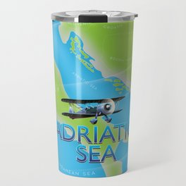 Adriatic Sea Travel Mug