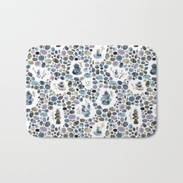 Wishing stones and cairns Bath Mat