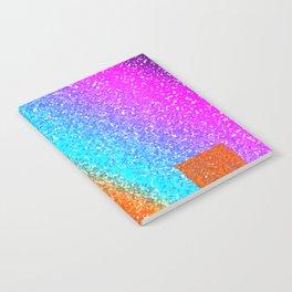 Rainbow Cubes Notebook