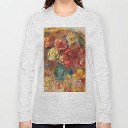 "Auguste Renoir ""Bouquet de fleurs"" Long Sleeve T-shirt"