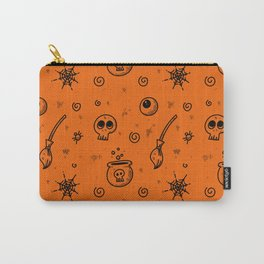 Halloween symbols seamless pattern Carry-All Pouch