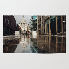 London and reflection Rug