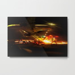 Descent Metal Print