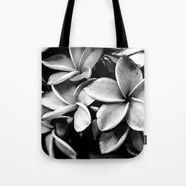 Tropicals B&W Tote Bag