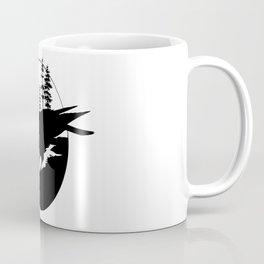 Raven Silhouette II Coffee Mug