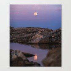 Full Moonrise Canvas Print