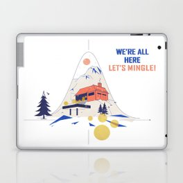 We're all here. Let's mingle! Laptop & iPad Skin