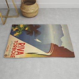 Vintage poster - Riva Torbole Rug