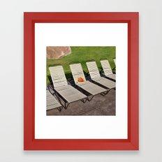 Pizza Vacay Framed Art Print