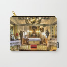 Zosna Old Countryside Church Latvia Carry-All Pouch