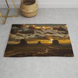 Monument Valley - Vivid Sunrise Rug
