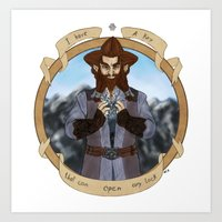 nori Art Prints featuring The Key by BlueSparkle