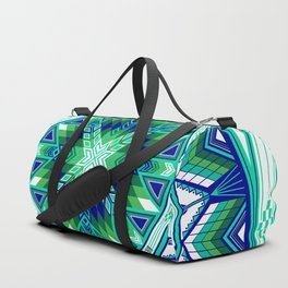 Sacred Places Green Duffle Bag