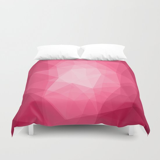 Geometric Polygonal Pattern 02 Duvet Cover
