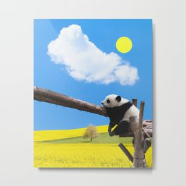 Sunny day in paradise Metal Print