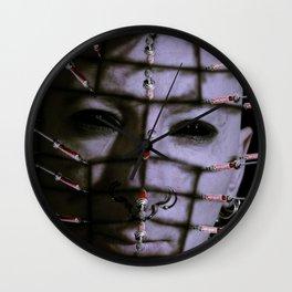 Syringe head Wall Clock