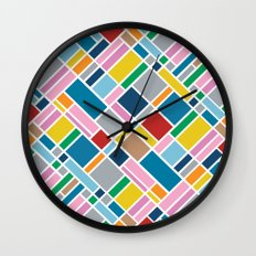 Map Outline 45 Wall Clock