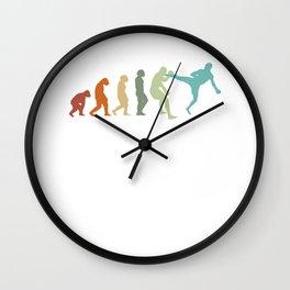 Karate Evolution Taekwondo Ju-Jutsu Kung-Fu Karate Wall Clock