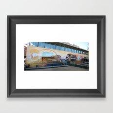 Klimt Tribute Framed Art Print