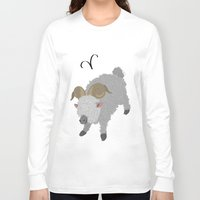 aries Long Sleeve T-shirts featuring Aries by Rejdzy