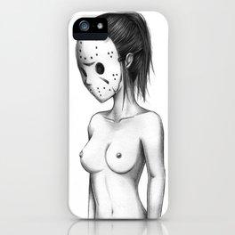 Miss Jason iPhone Case