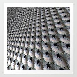 Porous surface Art Print