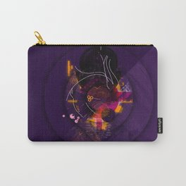 Spiral Geometric Dominance Carry-All Pouch