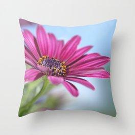 Purple Flower 3 Throw Pillow