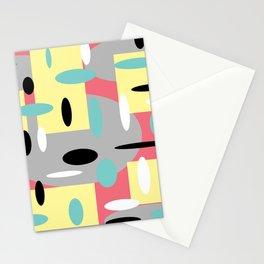 Random Retro Coral Stationery Cards