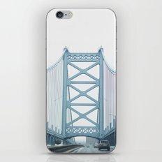 The Ben Franklin Bridge iPhone Skin