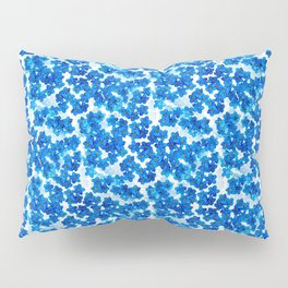 Forget-me-not Flowers White Background #decor #society6 #buyart Pillow Sham