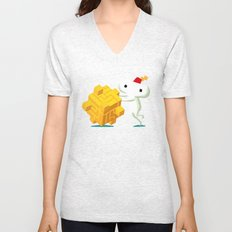 The Prince with a FEZ Unisex V-Neck