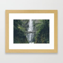 Multnomah Falls Framed Art Print