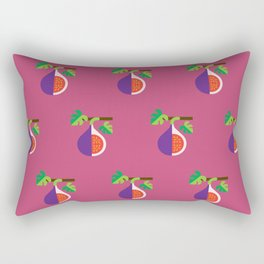 Fruit: Fig Rectangular Pillow