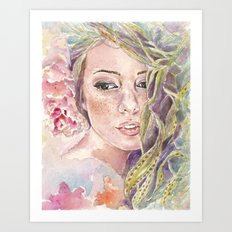 Parthenope  Art Print