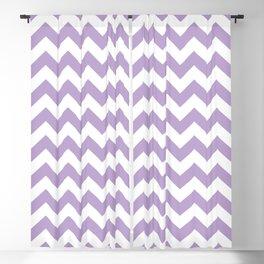 Lavender Chevron Pattern Blackout Curtain