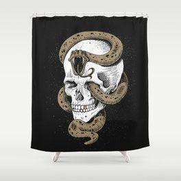 The Dark Mark of You-Know-Who Shower Curtain