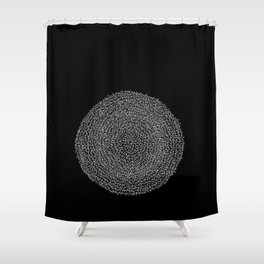Dark Matters Shower Curtain