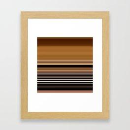 stripes 229 Framed Art Print