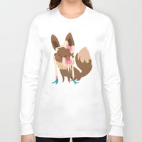sylveon Long Sleeve T-shirts featuring Sylveon by Dani Tea