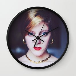 The Golden Lady. Wall Clock