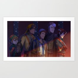 Protectors Art Print