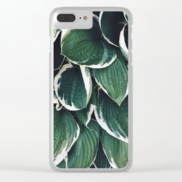 Garden Situation Clear iPhone Case