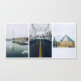 Ottawa Triptych Canvas Print