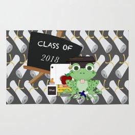 Graduations Diplomas And Frog Rug