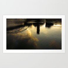 Reflection of Tortosa Art Print